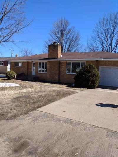 Ishpeming Single Family Home Pending w/Contingency: 110 N Marigold