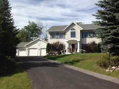 Marquette Single Family Home For Sale: 1880 Harbour View Dr