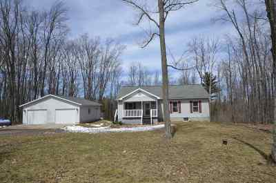 Negaunee Single Family Home Pending w/Contingency: 205 Co Rd 480