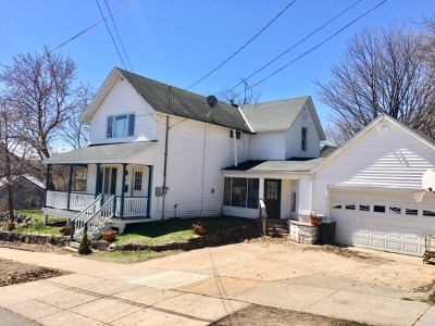 Marquette Single Family Home Pending w/Contingency: 215 N Sixth St