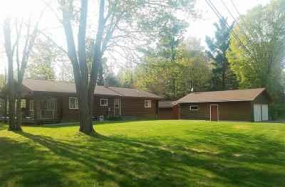 Gwinn Single Family Home For Sale: 409 N River