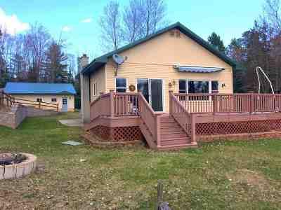 Gwinn Single Family Home For Sale: 2718 Pike Lake Tr