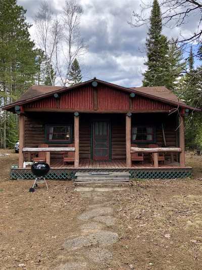 Ishpeming Single Family Home Pending w/Contingency: 192 Haglund Dr