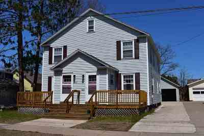 Marquette Multi Family Home Pending w/Contingency: 107/109 E Kaye St