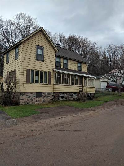 Ishpeming Single Family Home Pending Backup Encouraged: 518 Jasper