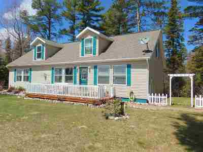 Negaunee Single Family Home New: 197 Airport Circle Dr