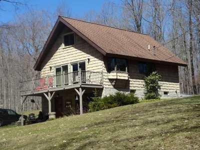 Munising Single Family Home For Sale: N7071 St. Martins Hill Rd