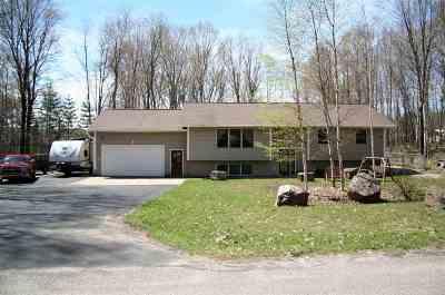 Munising Single Family Home For Sale: E9841 Kinston Dr