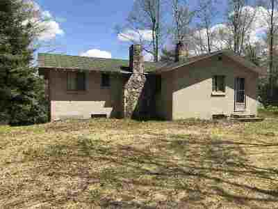 Gwinn Single Family Home For Sale: 3250 W Crooked Lake Ln