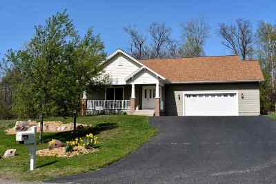 Marquette Single Family Home Pending w/Contingency: 2813 Granite Pointe Dr