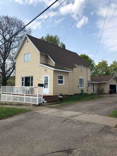 Negaunee Single Family Home Pending w/Contingency: 114 S Teal Lake Ave