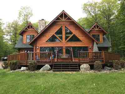Michigamme Single Family Home For Sale: 17186 Silver Rd