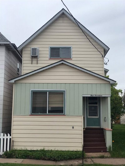 Ishpeming Single Family Home For Sale: 417 E Ely St