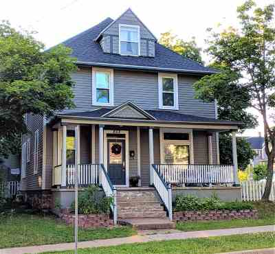 Marquette Single Family Home Price Change: 802 N Fourth St
