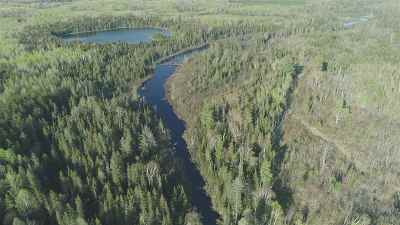 Michigamme Residential Lots & Land For Sale: 112 Acres Spruce River