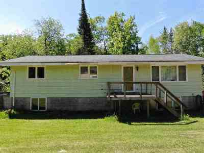 Negaunee Single Family Home For Sale: 77 E Wilderness Rd