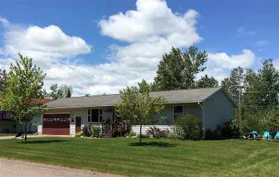 Ishpeming Single Family Home Pending w/Contingency: 1060 Suncliffe Dr