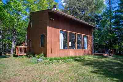 Michigamme Single Family Home For Sale: 21732 Petticoat Lake Rd