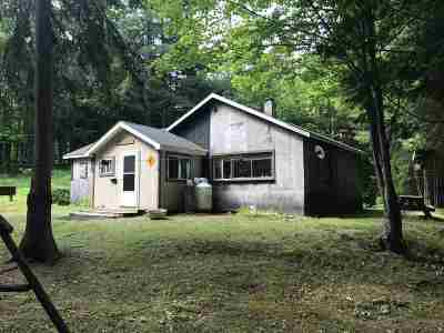 Marquette Single Family Home For Sale: County Hwy Hd/Harlow Lake Rd