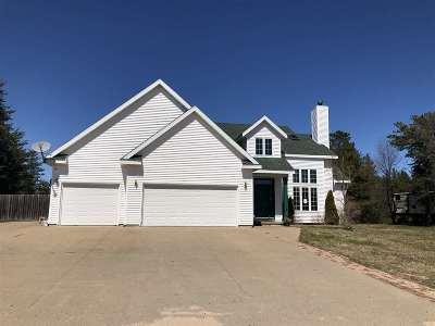 Marquette Single Family Home New: 158 Ridgewood