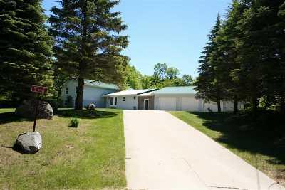 Munising Single Family Home For Sale: E9911 Miller Rd
