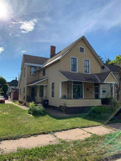 Ishpeming Single Family Home Pending w/Contingency: 623 N Fifth St