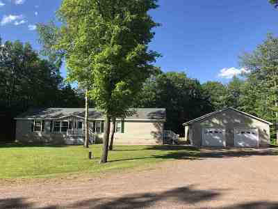 Ishpeming Single Family Home Pending w/Contingency: 5380 Co Rd 581