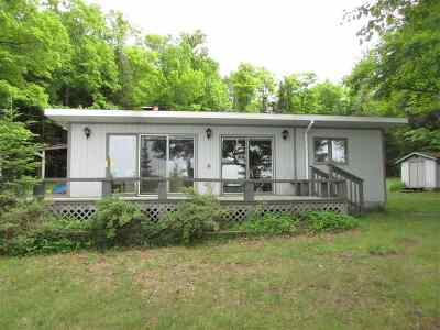 Michigamme Single Family Home For Sale: 444 Red Rd