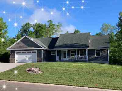 Marquette Single Family Home Price Change: 1910 North Creek Dr