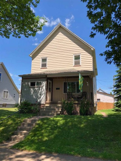Negaunee Single Family Home Pending w/Contingency: 625 Prince St