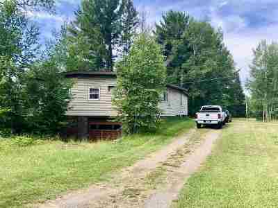 Michigamme Single Family Home For Sale: 120 Brown Rd