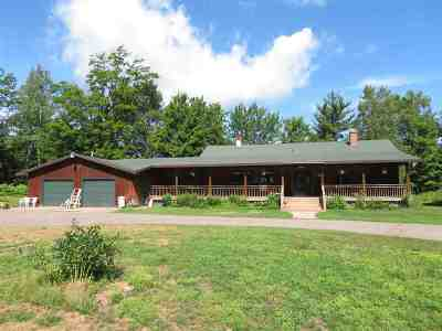 Marquette Single Family Home For Sale: 580 Brickyard Rd