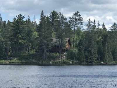 Michigamme Single Family Home For Sale: Lake Elinor