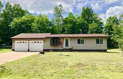 Ishpeming Single Family Home New: 18 Twin Pines Dr