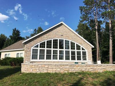 Gwinn Single Family Home New: 84 S Shag Lake