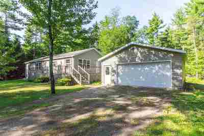 Marquette Single Family Home New: 100 Wintergreen Tr