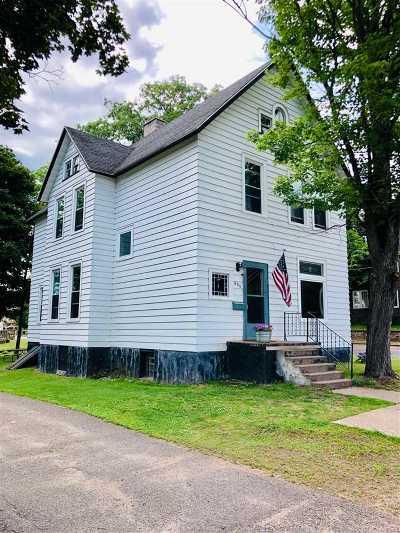 Ishpeming Single Family Home New: 800 N Maple St