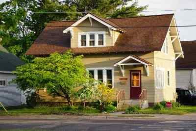 Marquette Single Family Home For Sale: 249 W Ridge St