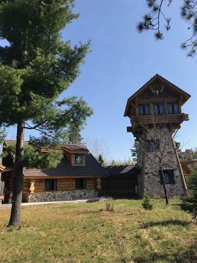 Ishpeming Single Family Home For Sale: 230582 Boot Lake