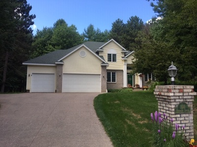 Marquette Single Family Home Price Change: 107 Pineview Dr
