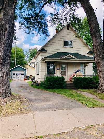 Negaunee Single Family Home For Sale: 731 Baldwin Ave