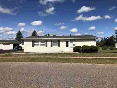 Gwinn Single Family Home For Sale: 100 Caribou