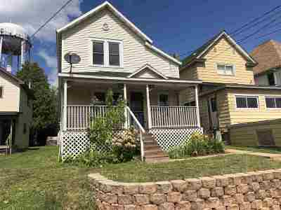 Negaunee Single Family Home For Sale: 116 Rock St