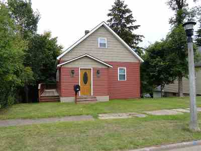 Negaunee Single Family Home Pending w/Contingency: 530 Elm St