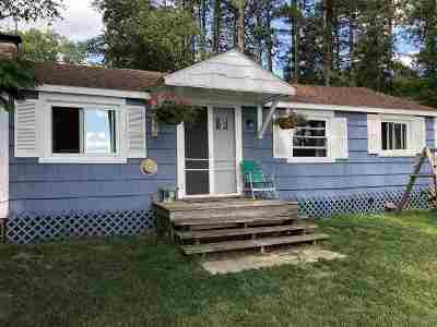 Gwinn Single Family Home For Sale: 153 E Johnson Lk Rd