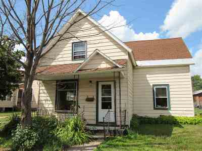 Negaunee Single Family Home Pending w/Contingency: 435 Cherry St