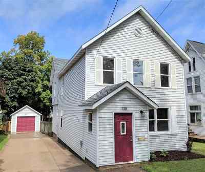 Marquette Single Family Home Pending w/Contingency: 138 W Arch St