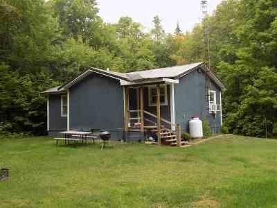 Munising Single Family Home Pending w/Contingency: E6529 Crossover Rd