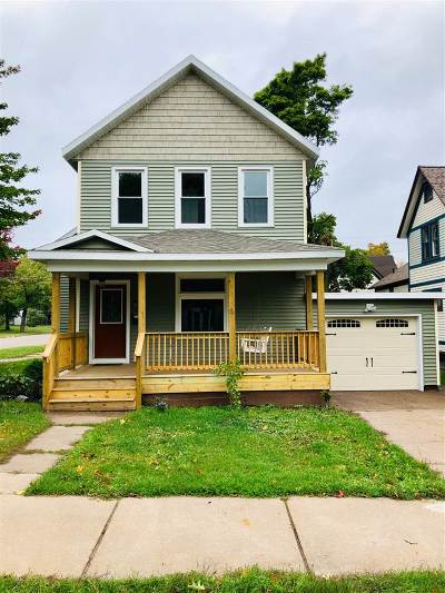 Negaunee Single Family Home For Sale: 201 E Case St