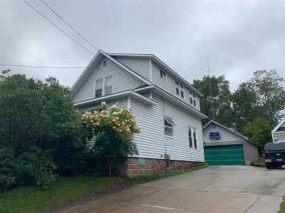 Marquette Single Family Home Pending w/Contingency: 1027 Second St